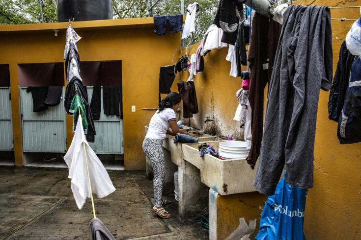 Migrantes y solicitantes de asilo en México