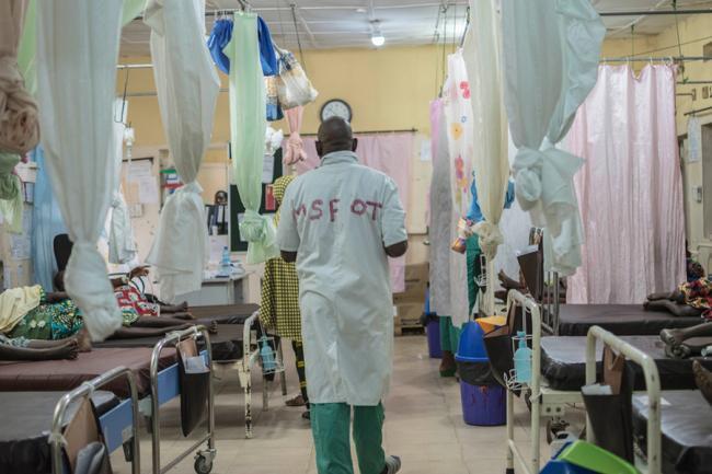 Hospital de maternidad de MSF en Nigeria.