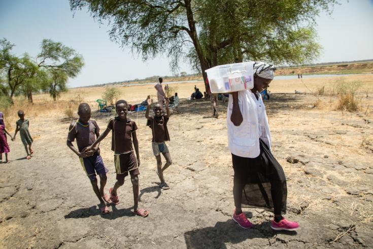 Traductora médica de MSF en Sudán del Sur