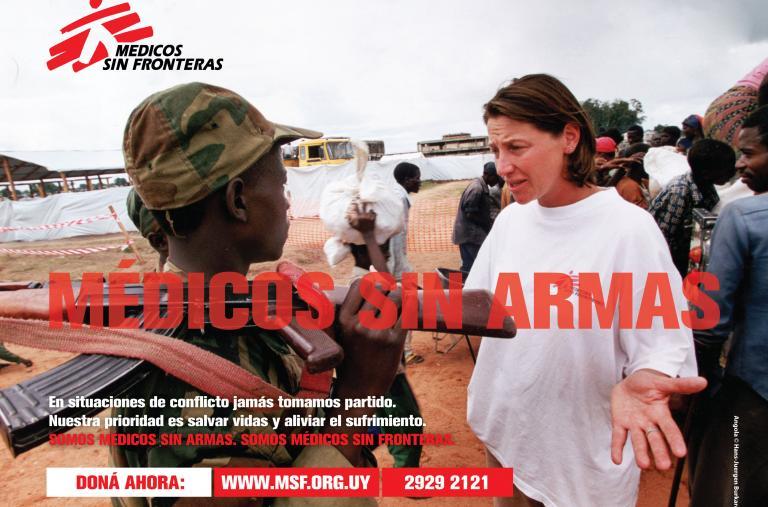 Campaña de notoriedad - MSF