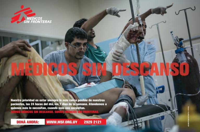 Campaña de notoriedad - MSF 2020