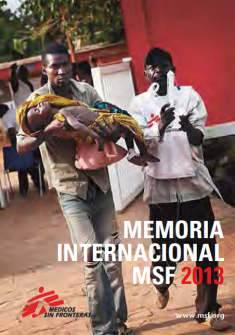 Memoria Internacional MSF 2013