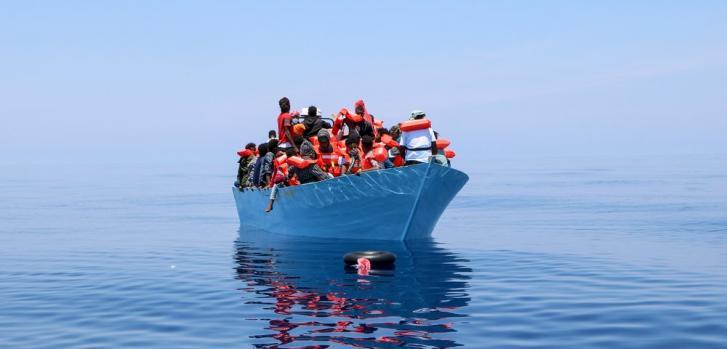 El 12 de junio rescatamos a las 93 personas a bordo de este bote en el Mar Mediterráneo. Junio de 2021