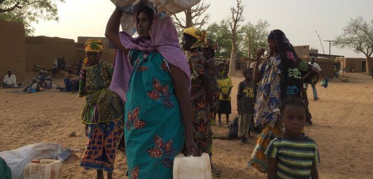 Crisis y violencia en Mali