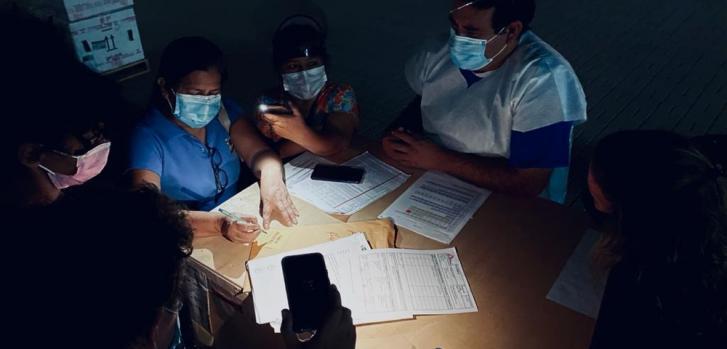 Intervención de MSF en la provincia de Huaura, al norte de Lima, Perú. Abril de 2021