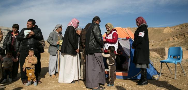 Clínicas móviles de MSF en las gobernaciones de Kirkuk y Salahedin, Irak. ©Baudouin Nach
