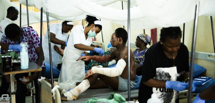 Respuesta a emergencia en Benue, Nigeria.