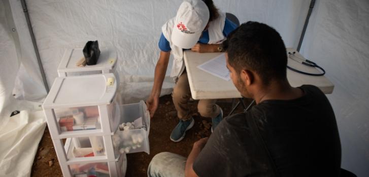 Médicos Sin Fronteras brinda atención a migrantes a lo largo de la ruta migratoria por México.
