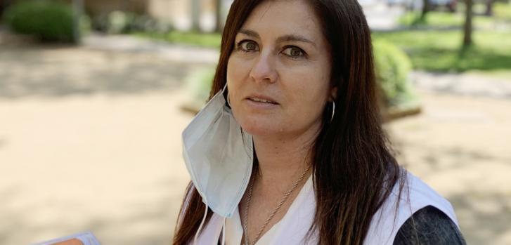 Ximena Di Lollo, médica y coordinadora de Atención a Mayores en Residencias de Médicos Sin Fronteras (MSF) contra la pandemia de COVID-19 en España.