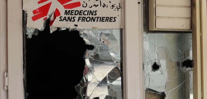 Ataque a la maternidad de Médicos Sin Fronteras en el hospital Dashte Barchi en Kabul (Afganistán)