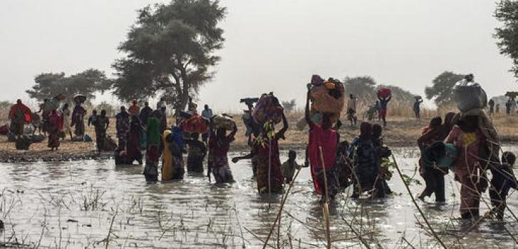 Violencia en Nigeria huyen a Camerún