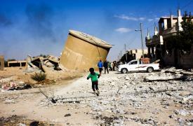 En junio de 2015, el hospital apoyado por MSF en Kobanê es destruido durante un conflicto.