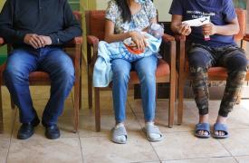 Migrantes en la frontera entre México y EE.UU. Marzo de 2021