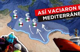 Video: así frenaron los salvatajes en el Mar Mediterráneo