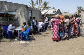 Respuesta de emergencia en Mozambique