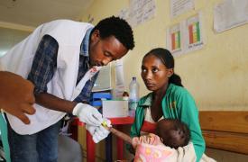 Desplazamiento causa desnutrición en Etiopía