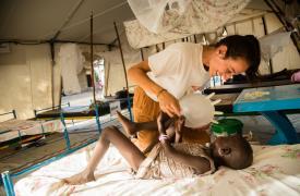 Proyecto de ayuda humanitaria para población vulnerable