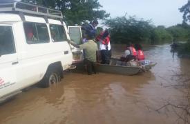 Inundaciones por el ciclon Idai en Malaui