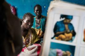 Sala de maternidad de Médicos Sin Fronteras en Sudán del Sur