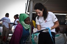 Búsqueda y rescate Médicos Sin Fronteras