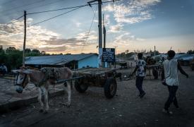 La vida cotidiana en la región de Amhara, Etiopía. Médicos Sin Fronteras trabaja en la región desde 1997.