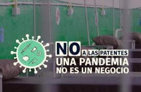 Campaña Sin patentes en pandemia
