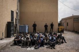Detenidos en Janzour (Tripoli, Libia) ©Guillaume Binet/Myop