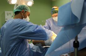 Proyecto de cirugía plástica reconstructiva en la Franja de Gaza, Hospital Dar Al Salam.