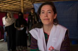 Kate Nolan, coordinadora de emergencia de Médicos Sin Fronteras (MSF) en Bangladesh.
