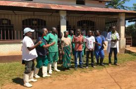 Wangui, nuestro paciente curado de Ébola.