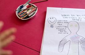 Psicoterapia para niños refugiados en Lesbos