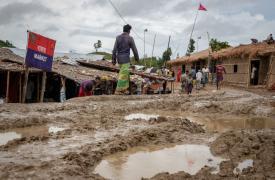 Campamento Unchiprang en Bangladesh.