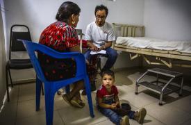 El trabajo de las clínicas móviles en Guerrero.
