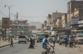 Vista de Bajil, Yemen, el 1 de mayo 2019.