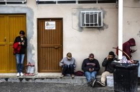 Los migrantes y refugiados que esperan en refugios para cruzar a Estados Unidos, están expuestos a riesgos de violencia en la frontera. (Foto: norte de México)