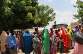 Maiduguri, la capital del estado de Borno, alberga a alrededor de un millón de personas desplazadas de toda la región.