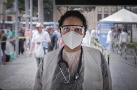 Doctora Ana Letícia Nery, coordinadora médica de actividades de Médicos Sin Fronteras en São Paulo, Brasil.