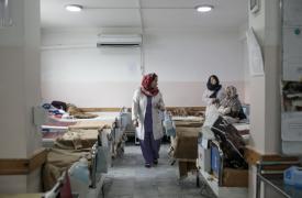 Nuestra maternidad de Dashte Barchi en Kabul, Afganistán, en diciembre de 2019.