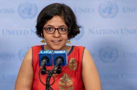 Jóvenes activistas contra la patente del medicamento para la tuberculosis