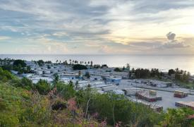Isla donde envían los refugiados desde Australia