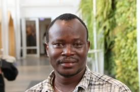 Trabajador de Médicos Sin Fronteras en Sierra Leona